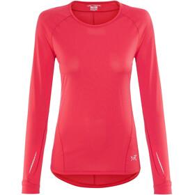 Arc'teryx Motus - T-shirt manches longues Femme - rouge